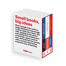 TED Books Box Sets - The Creative Mind