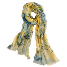 Marbled Wool Scarf