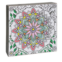 Color-Your-Own Wall Art - Possibility