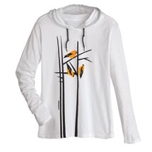 Marushka Goldfinches Hooded Tee