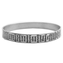 The Most Commonly Misspelled Words Bracelet - Sterling Silver