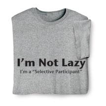 Selective Participant Shirts