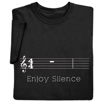Enjoy Silence Shirts