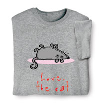 Love, The Cat Shirts
