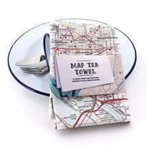 Personalized Hometown Kitchen Towel