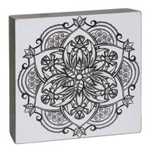 Color-Your-Own Wall Art - Serenity