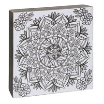 Color-Your-Own Wall Art - Energy