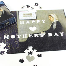 Mother's Day Puzzle - Whistler's Mother