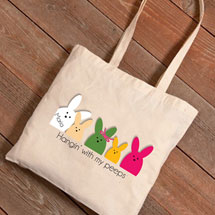 Personalized Easter Tote - Peeps