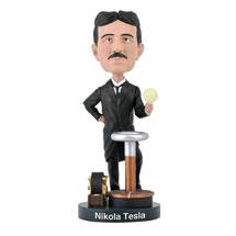 Bobbleheads for Brainiacs: Nikola Tesla