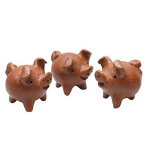 Lucky Pigs from Chile Set
