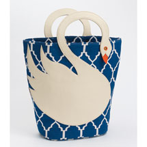 Swan Bucket Tote