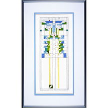 Frank Lloyd Wright Waterliles Cross Stitch Kit