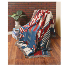 Frank Lloyd Wright® Flags Throw