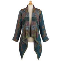 Blue Jasmine Wool Jacket