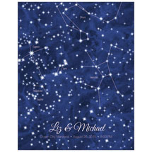 Personalized Night Sky On Your Day Print - Traditional Style