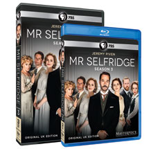 Mr. Selfridge Season 3 DVD or Blu-ray