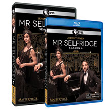Mr. Selfridge Seasons 1-4 - DVD