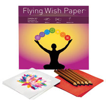 Chakra Flying Wish Paper Kit