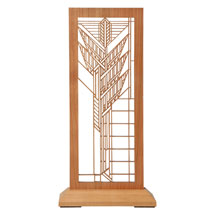 Frank Lloyd Wright Standing Tabletop Panel - Sumac
