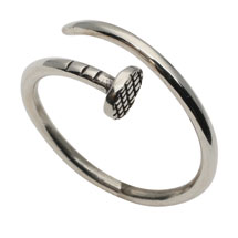 Nail Ring - Sterling Silver