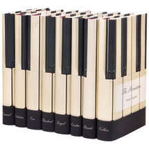 Piano Keys Books Set