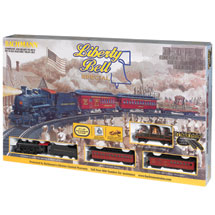 Liberty Bell Special Electric Train Set
