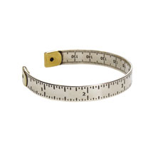 Measuring Jewelry: Stainless Steel Cuff