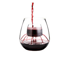 Aerating Wine Glass - Stemless