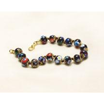 Murano Glass Beads Bracelet