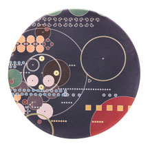 Frank Lloyd Wright® Midway Mural Coasters