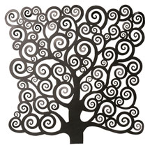 Symbolist Tree of Life Wall Art