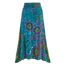 Kaleidoscope Tie-Dye Skirt