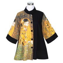Klimt The Kiss Swing Jacket