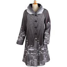 Skyline Reversible Raincoat
