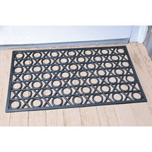 Hugs & Kisses Rubber Doormat