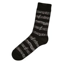 Music Socks - Manuscript