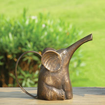 Seated Elephant Watering Can