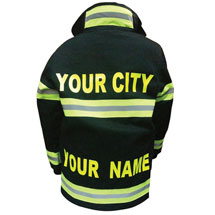 Personalized Junior Firefighter Suit