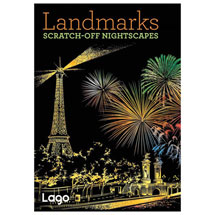 Landmarks Scratch-Off Nightscapes Book