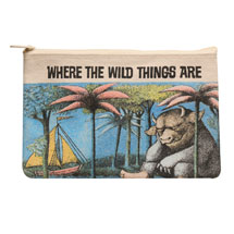 Children's Classics Zipper Pouches - Where The Wild Things Are