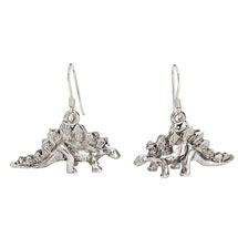 Dinosaur Earrings - Stegosaurus