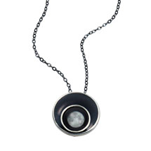 Custom Moonglow Orbit Necklace