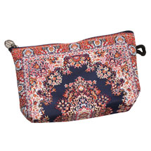 Persian Rug Zip Pouch - 2 colors