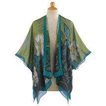 Wild Roses Kimono Jacket
