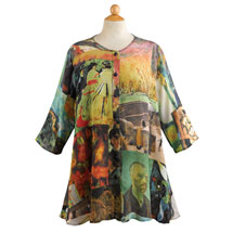 Gallery Silk Tunic