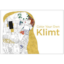 Color Your Own Klimt Coloring Book