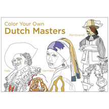 Color Your Own Dutch Masters Coloring Book