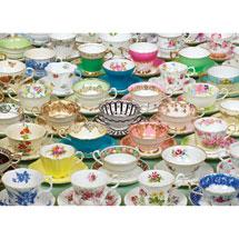 Teacups 1000 Piece Puzzle