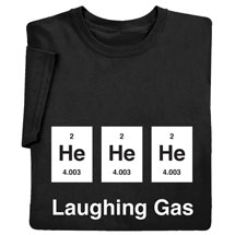 Laughing Gas Shirts